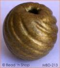 Shinning Golden Round Bead