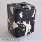Black & White Square Bead