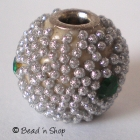 Silver Color Bead in Shinning Small Grains