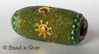Bead Studded with Green Grains & Accessories