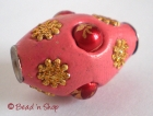 Pink Bead Studded with Accessories