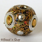 Golden Lining Glitter Bead Studded with Accessories