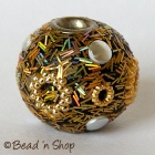 Golden Color Bead Studded with Accessories