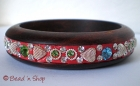 Bangle Embedded with Rhinestones & Accessories