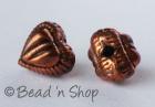 Heart Shaped Copper Bead