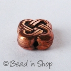 Entangled Design Copper Bead