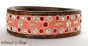 1pc Pink Bangle Studded with Rhinestones & Accessories