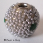 50pc  Silver Color Bead in Shinning Small Grains