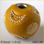 50pc Yellow Bead Studded with Golden Accessories