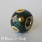 50pc Glittering Pandora Bead Studded with Cabochons & Accessories