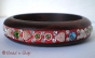 1pc Bangle Embedded with Rhinestones & Accessories