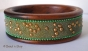 1pc Bangle Embedded with Grains & Golden Balls
