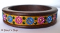 1pc Bangle Studded with Rhinestones & Accessories
