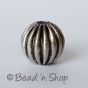 100gm Round Silver Plated Copper Bead