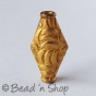 100gm Gold Plated Copper Bead in Cylindrical Shape