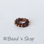 100gm Oxidized Copper Bead with 4mm Hole Size