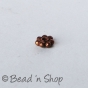 100gm Oxidized Copper Bead with 1mm Hole Size