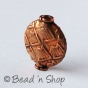 100gm Copper Bead in Flattened Shape