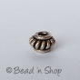 100gm Silver-Plated Copper Bead in Spring Design