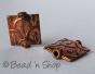 100gm Square Copper Bead